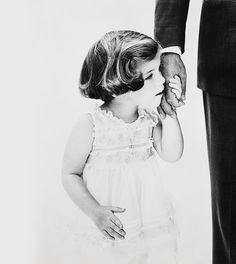 Caroline Kennedy & John F. Kennedy, Florida, 1961 | by Richard Avedon