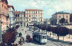 Αθήνα, αρχές 20ου αιώνα, Πλατεία Συντάγματος.