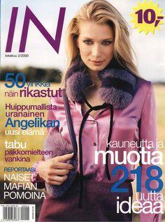 Angelika Kallio Cover Magazine In Finland - 2000