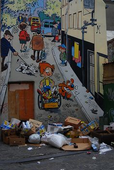 Tintin in Brussels. Photo by S h u n z a n, on Flickr