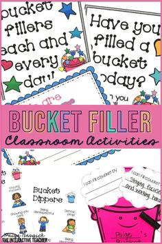 Have You Filled a Bucket Today? by Carol McCloud is the perfect book to teach your students how to be kind and respectful. This bucket filler activities bundle has everything you need to teach your students all about bucket fillers and bucket dippers.  It includes a bulletin board craft, printables, sorts, activities and images for anchor charts.  This resource is perfect for preschool, kindergarten, first grade or any bucket filling classroom. Teaching Plan, Teaching Tips, Teaching Reading, Guided Reading, Teacher Binder, Teacher Blogs, Organized Teacher, Teaching Character, Character Education