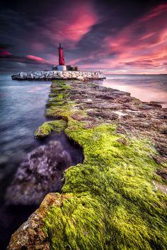The Light at the Edge of the World - Lighthouse Villajoyosa - Spain - by Pedro José Benlloch Nieto