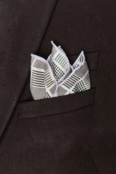 Plaid is always in style. #PocketSquare