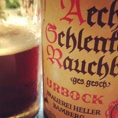Cerveja do dia: Schlenkerla Rauchbier Urbock (6,5% / Bamberg, Baviera - Alemanha) #cervejadodia