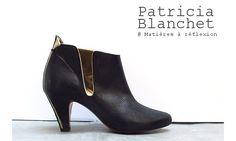 Patricia Blanchet boots Marmont encre