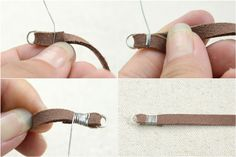 Attaching a cord end-style 3