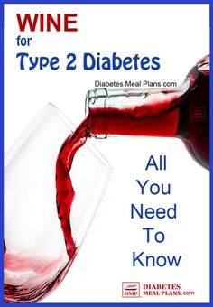 A glass of wine is nice with dinner or to toast that special occasion. But is red or white wine okay to drink with diabetes or prediabetes? Wine And Diabetes, Beat Diabetes, Gestational Diabetes, Diabetic Drinks, Diabetic Recipes, Desserts For Diabetics, Diet Recipes, Cure Diabetes Naturally