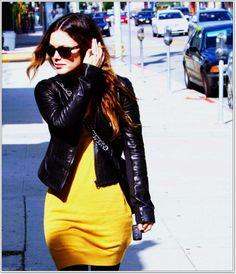 Rachel Bilson // Rachel discovered by Dottie▼ Rachel Bilson, Leather Skirt, Punk, Skirts, Fashion, Leather, Feminine Fashion, Women, Moda