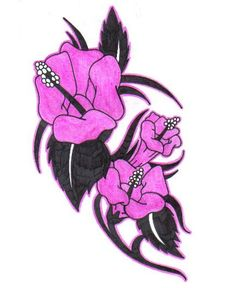 Flower Tattoo Designs - The Body is a Canvas Lilly Flower Tattoo, Lillies Tattoo, Tulip Tattoo, Flower Tattoo Designs, Popsicle Stick Crafts, Craft Stick Crafts, Purple Day, Tattoo Flash Sheet, Tissue Paper Crafts