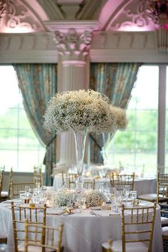 Tall Trumpet Centerpieces For Wedding   Google Search