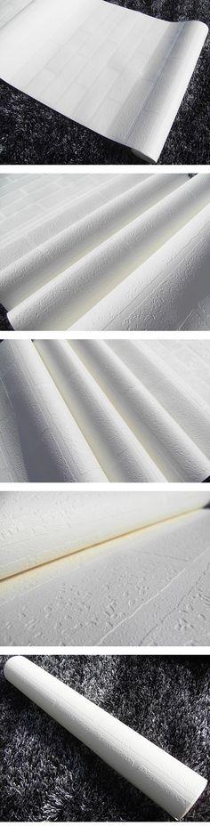Engrossando branco papel de parede de tijolos para paredes rolos de papel de parede de tijolo do fundo TV rústicas , Papel de Parede em Papéis de parede de Melhorias na casa no AliExpress.com | Alibaba Group