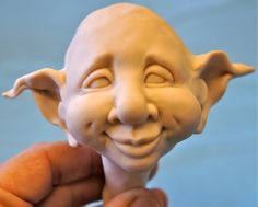 This cute doll head has an easy ' button' nose and the eyes will be painted on after clay dries. Description from pinterest.com. I searched for this on bing.com/images