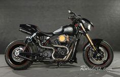 Harley-Davidson FXDP  Dyna Super Glide Police Defender Fitil-DMC Moscow