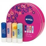 Nivea lip balm (pack of 4) instore at Tesco for just £2.50.