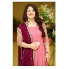 Image may contain: 1 person, standing Pakistani Fashion Party Wear, Indian Fashion Dresses, Indian Gowns Dresses, Dress Indian Style, Pakistani Dress Design, Pakistani Dresses, Bollywood Fashion, Bridal Dresses, Wedding Dress