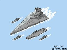 """""""Upgrading the 6th Fleet"""" by JCMaziu is only $11 today at EpicEmbrace http://www.teefiend.com/5591/upgrading-the-6th-fleet/"""