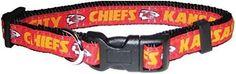 Pets First NFL Kansas City Chiefs Pet Collar, Small