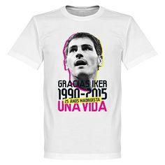 Gracias Iker - 25 años madridista #IkerCasillas #Iker #Casillas #UnaVida #RealMadrid