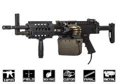Airsoft GI Custom LMG Bastard HPA Airsoft Gun