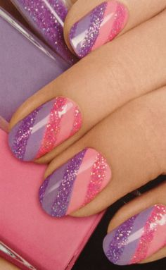 Love these! Super cute for Spring/Summer! #nailart #nails