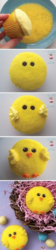 Homemade Peeps cupcake (decoration)!