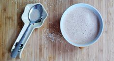 Thriving in Belgium with a Paleo Lifestyle: A Bowl of Frothy Goodness {PeaNOT Butter Cup Coffee}