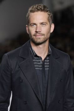 Paul Walker on the runway for  Colcci at the Sao Paulo Fashion Week Summer 2013/2014 in Sao Paulo March 13, 2014