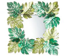 Daina 3D Tükör Floral Wreath, Wreaths, Decorations, Home Decor, 3d, Home Accessories, Garlands, Flower Crowns, Door Wreaths