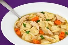 The Disney Diner: Chicken Tortellini Soup Recipe from Tony's Town Square (Magic Kingdom)