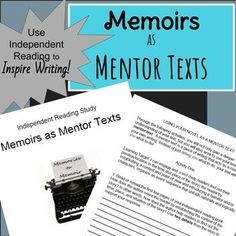 In this unit of study, students will choose independent reading narrative texts to use as mentor texts.  This packet includes a goal setting sheet and reading tracker for independent reading, Common Core aligned activities modeled after short response writing on standardized testing in which students analyze their independent reading text and apply that analysis in their own memoir writing, a reflection on their reading that is modeled after the NYS exam extended response, a checklist for…