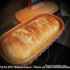 Paine de casa neframantata reteta rapida | Savori Urbane Bread Recipes, Cake Recipes, Cooking Recipes, Healthy Recipes, Cooking Bread, Just Bake, Yummy Food, Tasty, Cooking Time