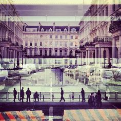 New York + London / beautiful double exposures by Daniella Zalcman #nyc #london #photography