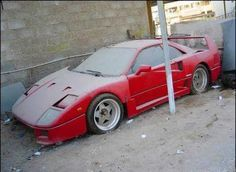 Damn Cool Cars: Abandoned Legends Ferrari Automotive