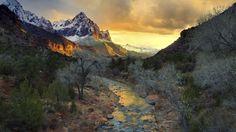 Schöne Fotos von der Natur mit einem herrlichen Blick auf die echte harmonischen Berglandschaft.