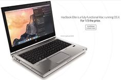 HacBook Elite is an OS X laptop with upgradable hardware