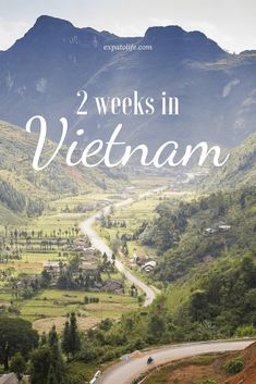 How to spend 2 weeks in Vietnam? Read here for a detailed Vietnam itinerary to know how to explore the best of Vietnam in 14 days. Useful tips for the best places to visit in Vietnam, things to do in Vietnam, what to eat and how much to spend in Vi Cool Places To Visit, Places To Travel, Travel Destinations, Places To Go, Backpacking South America, Backpacking Asia, Vietnam Travel Guide, Asia Travel, Vietnam Tourism