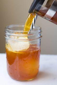 Cinnamon Turmeric Iced Tea: (aka. Golden Tea!) a simple and refreshing…