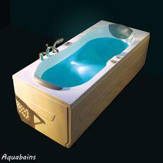 La baignoire balnéo rectangulaire St Maarten est une baignoire au design élégant. Elle est équipée d'un système balnéo idéal pour apprécier un moment de détente dans votre salle de bain.  Baignoire balnéo rectangulaire ST MAARTEN - NVS1 180x80cm - VICTORY SPA : http://www.ma-baignoire-balneo.com/baignoire-balneo-rectangulaire-victory-spa-st-maarten-nvs1-xml-1081_1132-873.html
