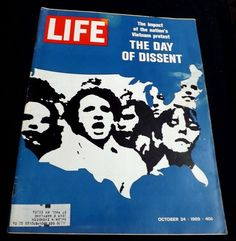 Day Dissent America Peace Protest Sonny Jurgensen 1969 October 24 LIFE Magazine
