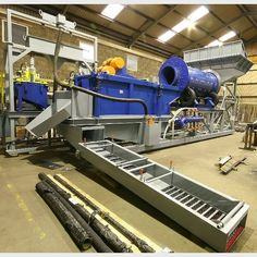 iCON IGR 3000 Gold Recovery Plant/Sepro SAP 30 Gold Recovery Plant.  Consisting of:  Feed chute fabricated of mild steel with grizzly bars.   Sepro pilot plant rotary scrubber - nominal...