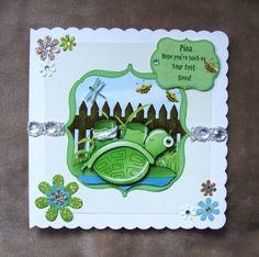 Handmade Get Well card by mandishella