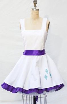 Rarity inspired dress, beautiful (just like her)