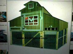 Huge 120 Sq Ft  Chicken Coop  30 Bird Chicken Coop, https//:www.FarmNyard.com Design