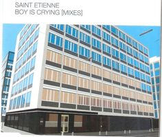 2001 Saint Etienne - Boy Is Crying (Mixes) [Mantra MNT60CD2] #albumcover