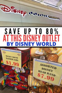 Where can you find the best Orlando Disney outlet closest to Disney World? Save up to off on Disney World theme park merchandise! Disney Souvenirs, Disney Destinations, Walt Disney World Vacations, Disneyland Vacations, Disney World Tips And Tricks, Disney Tips, Disney Fun, Disney Money, Disney Shopping