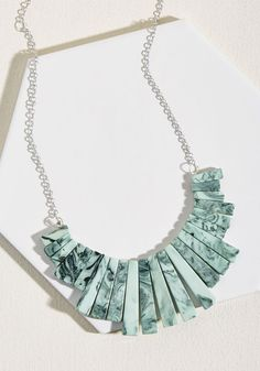 Elegantly Accented Necklace - Mid-length Cute Necklace fa678fc0d72c