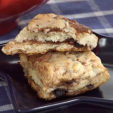 cinnamon schmear scones