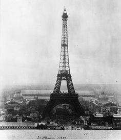 From the vault: Inauguration of the Eiffel Tower  (Photo: Henry Guttmann / Getty Images)