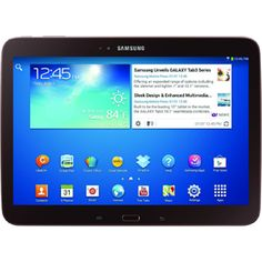 """Samsung Galaxy Tab 3 GT-P5210GNYXAR 16 GB Tablet - 10.1"""" - 1.60 GHz - Golden Brown - $435.99 #onselz"""