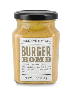 Williams-Sonoma Burger Bomb Sauce